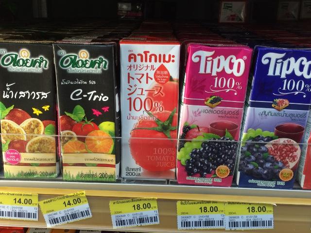 カゴメの100%トマトジュース、コンビニで販売中