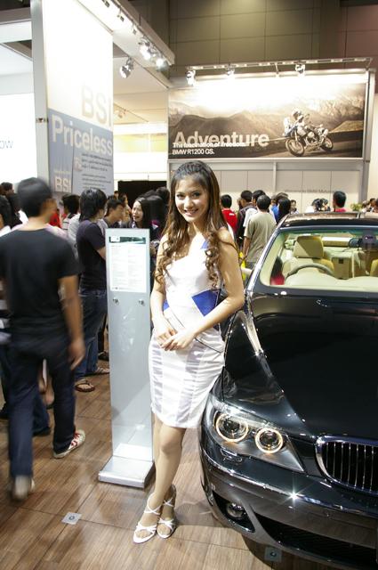 BMW キャンペーンガール08